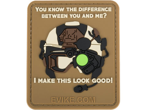 Matrix Difference Between You and Me PVC Morale Patch