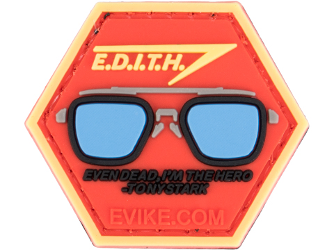 Operator Profile PVC Hex Patch Geek Series 3 (Style: E.D.I.T.H.)