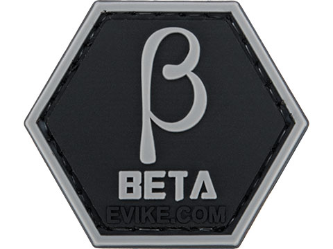 Operator Profile PVC Hex Patch Greek Letters Series (Style: Beta)