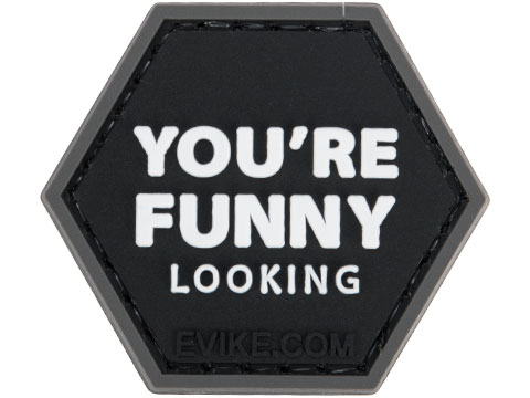 Operator Profile PVC Hex Patch Catchphrase Series 6 (Style: You're Funny Looking)