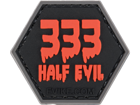 Operator Profile PVC Hex Patch Spooky Series 2 (Style: 333 Half Evil)