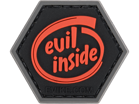 Operator Profile PVC Hex Patch Spooky Series 2 (Style: Evil Inside)