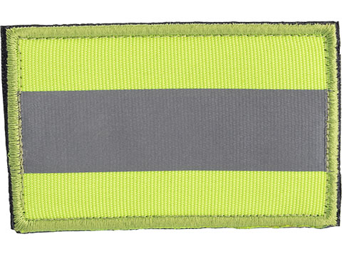 Matrix Reflective Line IFF Patch w/ Nylon Bordering (Color: Fluorescent Green-Yellow)