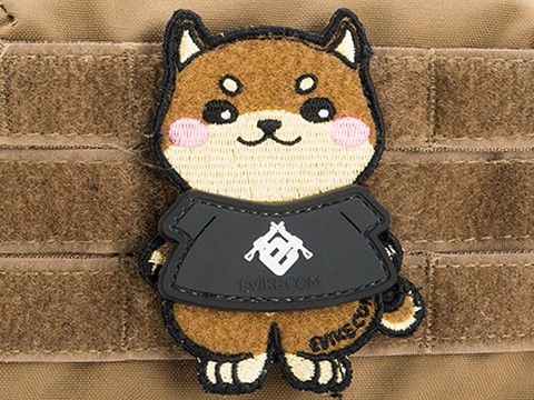 Evike.com DOGE Gear Hook & Loop Morale Patch (Style: Evike.com T-Shirt)