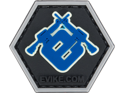 Operator Profile PVC Hex Patch Evike Series 3 (Style: Evike Glow In The Dark Outline)