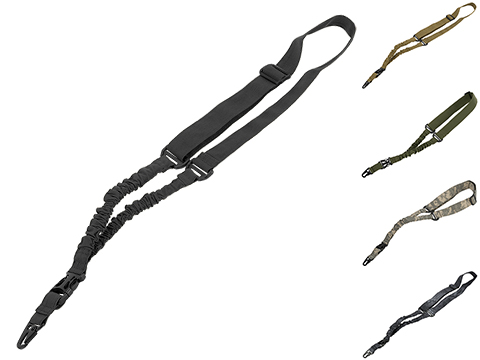 Matrix One Point Bungee Sling w/ QD Buckle (Color: Black)