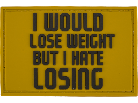Evike.com PVC 2 x 3 Morale Patch - Lose Weight