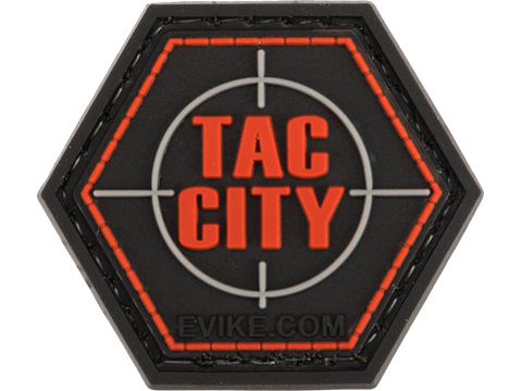 Operator Profile PVC Hex Patch Evike Series (Style: Tac City)