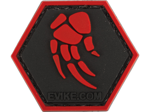 Operator Profile PVC Hex Patch - Agent 2 Movie Red Claw