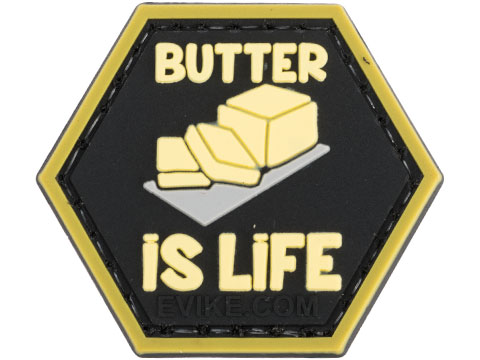 Operator Profile PVC Hex Patch Catchphrase Series 5 (Style: Butter is Life)