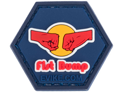 Operator Profile PVC Hex Patch Pop Culture Series 3 (Style: Fist Bump)