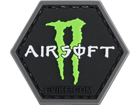 Operator Profile PVC Hex Patch Catchphrase Series 6 (Style: Airsoft Monster)