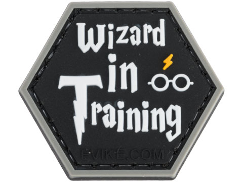 Operator Profile PVC Hex Patch Geek Series (Style: Wizard in Training)