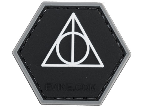 Operator Profile PVC Hex Patch Geek Series (Style: Deathly Hallows)