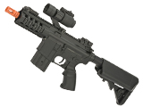 JG / Golden Eagle Airsoft Stubby M4 AEG w/ Crane Stock (Package: Black - Gun Only)