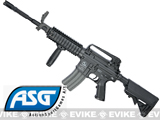 Bone Yard - Classic Army ArmaLite Licensed M15A4 M4 RIS Airsoft AEG Rifle w/ LMT Crane Stock by ASG (Store Display, Non-Working Or Refurbished Models)