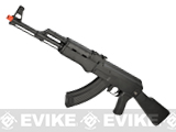 AK74 Full-Size Low Power Airsoft LPAEG AEG Rifle by CYMA / Army - Black