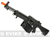 G&P Full Metal Weathered Navy Mk23 Airsoft SAW Machine Gun AEG w/ Box Magazine