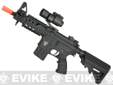 A&K Full Metal M4 Stubby Elite Airsoft AEG - Crane Stock