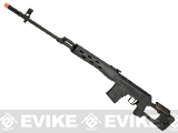 A&K SVD Dragunov Airsoft AEG Sniper Rifle w/ Metal Gearbox