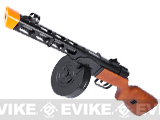 Pre-Order Estimated Arrival: 04/2014 --- S&T PPSh-41 WWII Electric Blowback Airsoft AEG Submachine Gun w/ Drum Mag