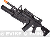 Dboy Full Size Airsoft Electric M3181 M4 Grenadier w/ M203 Low Power Airsoft AEG