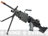 Classic Army M249 MkII Airsoft AEG Machine Gun (Package: Add 8.4v 1600mAh Battery + Charger)