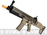 Classic Army FN Herstal Licensed SCAR-L Airsoft AEG Rifle (400 FPS) Desert