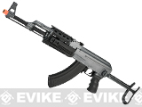 Full Size AK47-S RIS Airsoft AEG Rifle w/ Metal Gearbox & Metal Underfold Stock by CYMA (Package: Gun Only)