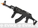 CYMA Standard Full Metal Contractor AK47 Airsoft AEG Rifle with Folding Stock