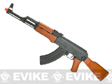 AK47 Advanced Full Metal Real Wood Airsoft AEG w/ Lipo Ready Gearbox by CYMA / Matrix (Package: Gun Only)