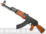 CYMA Custom AK47 Full Metal / Real Wood / Blowback Full Size Airsoft AEG
