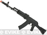CYMA Sport AK74 Airsoft AEG Rifle with Side Folding Polymer Stock (Package: Gun Only)