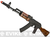CYMA / Matrix Custom Stamped Metal / Laminated Wood Full Size AK-74 Airsoft AEG