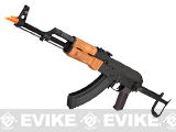 CYMA AK47-S Airsoft AEG Rifle with Folding Stock (Model: Real Wood / Gun Only)