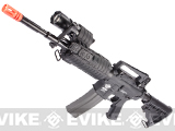 Evike Custom G&G SWAT500 Blowback M4 Airsoft AEG Rifle - Black