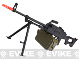 Rifle Dynamics Licensed HMG Full Metal Airsoft AEG Heavy Machine Gun by Echo1