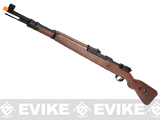 G&G Top Tech G980 Mauser KAR 98K WWII Airsoft Co2 Gas Rifle with Real Wood Stock