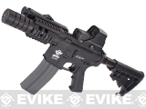 Evike Custom Class I G&G M4 Patriot Airsoft AEG Rifle - Black