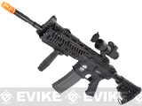 Evike Custom G&G M4 Airsoft AEG Rifle - CASV Black