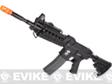 Evike Custom Class I G&G M4 Airsoft AEG Rifle - RASII Black