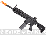 G&G Top Tech Full Metal Blowback TR4-18 Carbine Airsoft AEG Rifle - Black