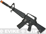 G&P CAR-15 Carbine Airsoft AEG Rifle with Retractable Stock