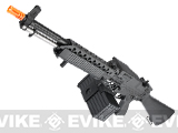 G&P Full Metal Navy Mk23 Airsoft M60 SAW Machine Gun AEG w/ Box Magazine