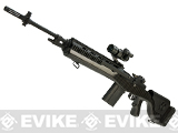 G&P Full Metal M14 Socom-16 DMR Custom Airsoft AEG Sniper Rifle - Real Carbon Fiber