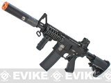 Evike.com G&P Rapid Fire II Airsoft AEG Rifle w/ QD Barrel Extension  (Package: Black/G&P)