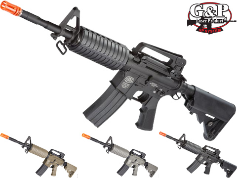 G&P Full Metal Advanced M4 Carbine AEG w/ Crane Stock