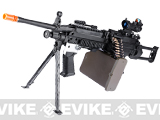 G&P New Generation Steel Receiver Full Metal M249 SAW Ranger Airsoft AEG Machine Gun