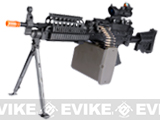 z G&P New Generation Steel Receiver Full Metal Mk46 SAW SOPMOD Airsoft AEG Machine Gun
