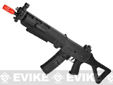 ICS Full Metal SIG 551 SWAT Airsoft AEG Rifle - Black